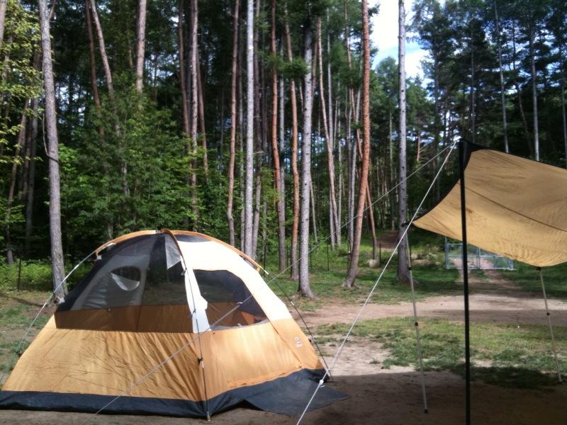 久しぶりにテント