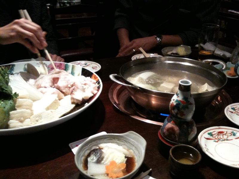 クエ鍋大好き