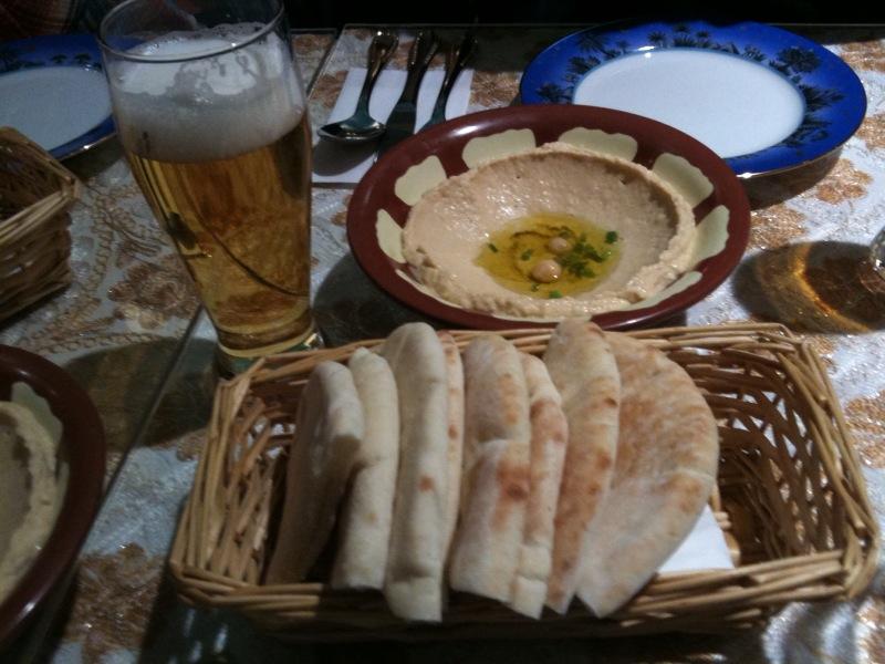 レバノン料理で忘年会