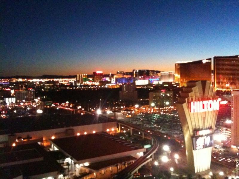 ラスベガスの夜景